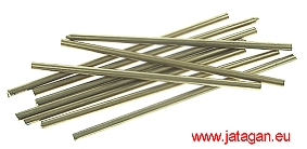 Metals Nickel Silver pin 4x200mm