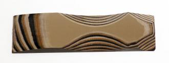 3,2x125x300mm G-10/Brown/beige/black 3,2x125x300mm