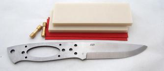 EnZo Trapper 95 D2 Basic kit/Ivory linen micarta Click to view the picture detail.