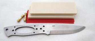 EnZo Trapper 95 12C27 Basic kit/Ivory Linen Micarta Click to view the picture detail.