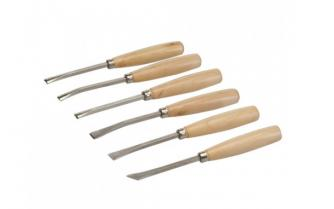 Carving chisel set 6pcs Click to view the picture detail.