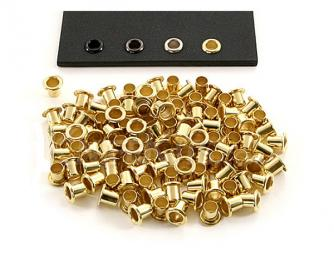 Eyelets 3/16 - Brass Finish Click to view the picture detail.