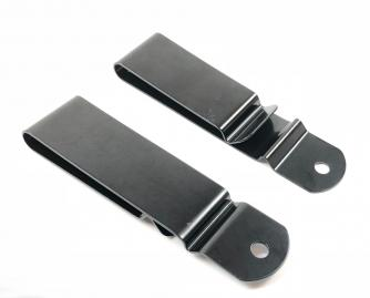 Sheath Clip 90x22mm Black Click to view the picture detail.