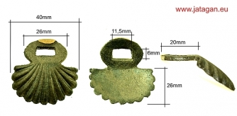 Brass collar nr.08 Click to view the picture detail.