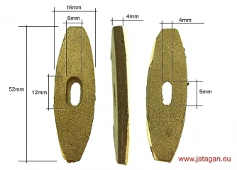 Brass guard nr.06 Click to view the picture detail.