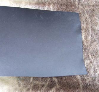 Cowhide black 2,6-2,8x250x250mm Click to view the picture detail.