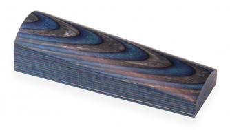 Laminated Wood  Blue / Black White shaded 30mm Click to view the picture detail.