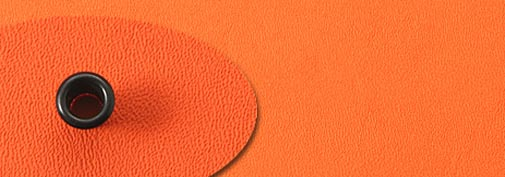 Kydex Hunter orange - 150x300mm Click to view the picture detail.