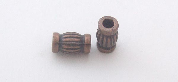 Paracord Metal Bead /Antique Copper