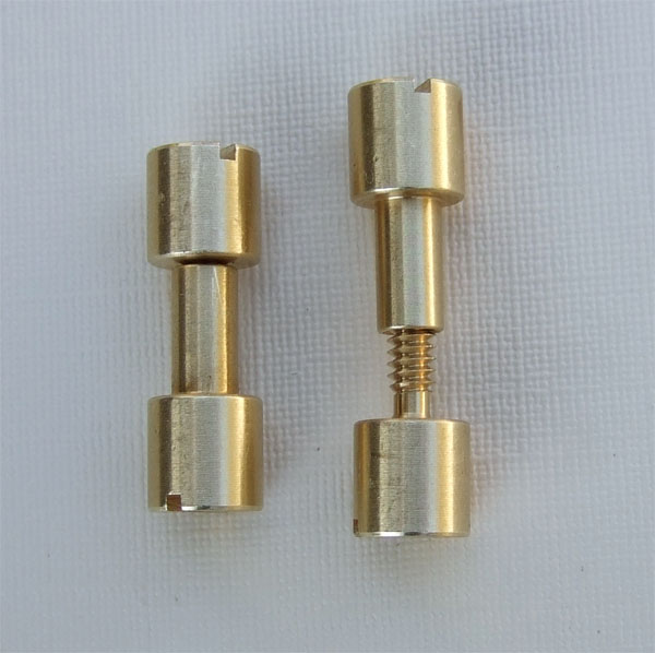 Corby Corby rivet Brass, head 6,4mm