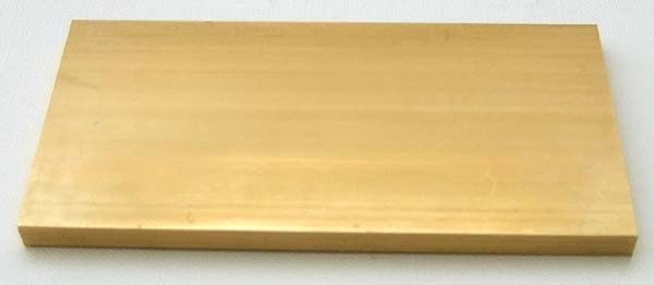 Metals Brass 5x50x100mm