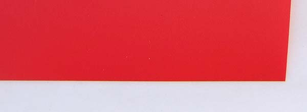 Polypropylene Polyprolylene red 0,4mm