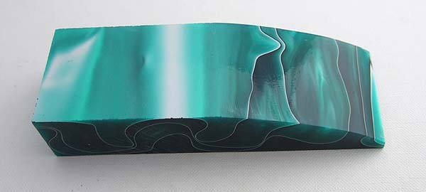 Acrylic Turquoise/Black block Click to view the picture detail.