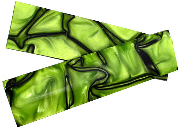 Kirinite Kirinite Toxic green/black - 3,5x40x125mm