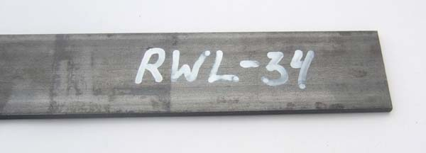 Steel for knifemaking RWL-34/3,2x50x250 mm